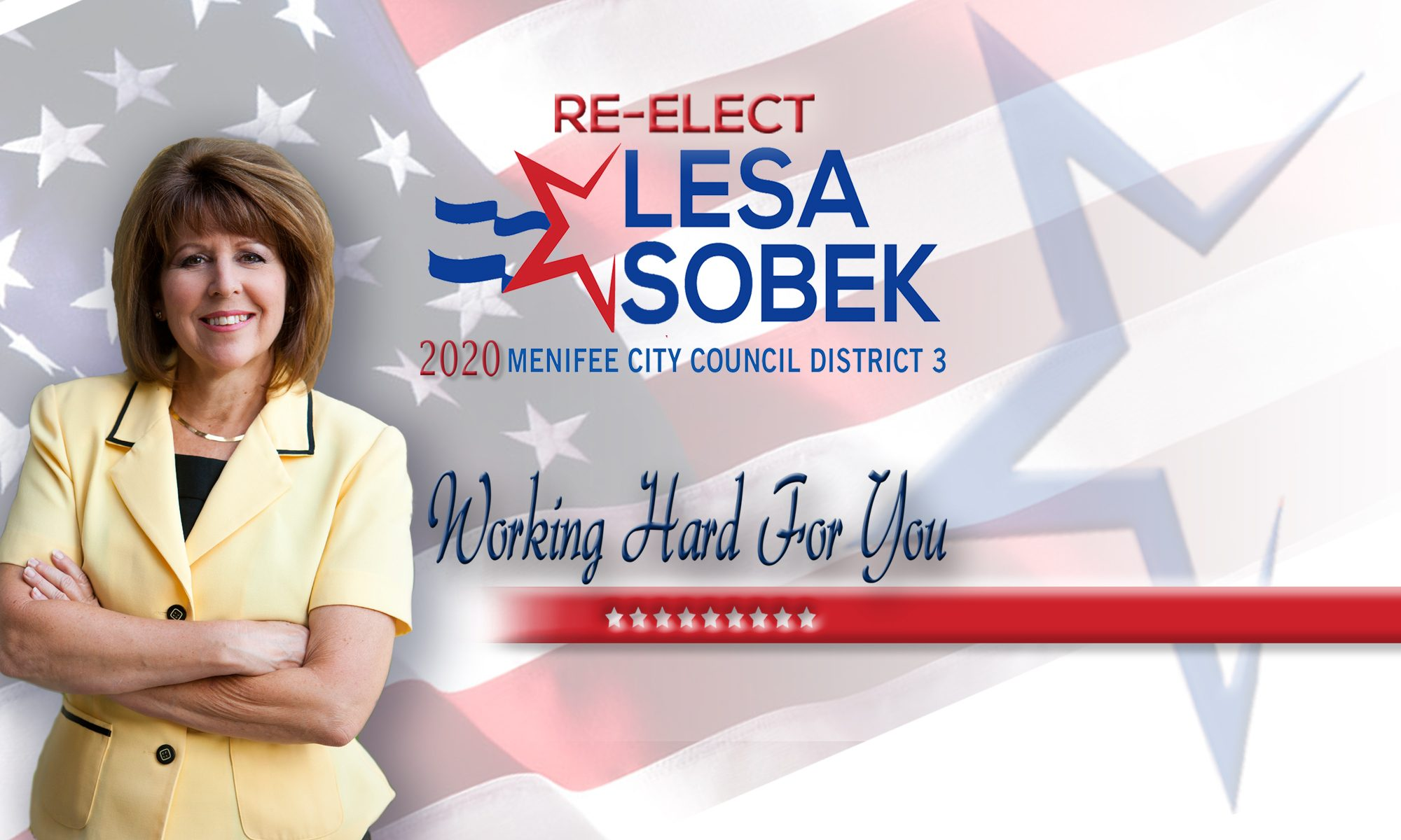Lesa Sobek for Menifee City Council 2020